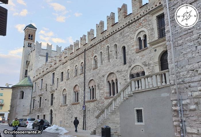 Trento - Palazzo Pretorio - retro