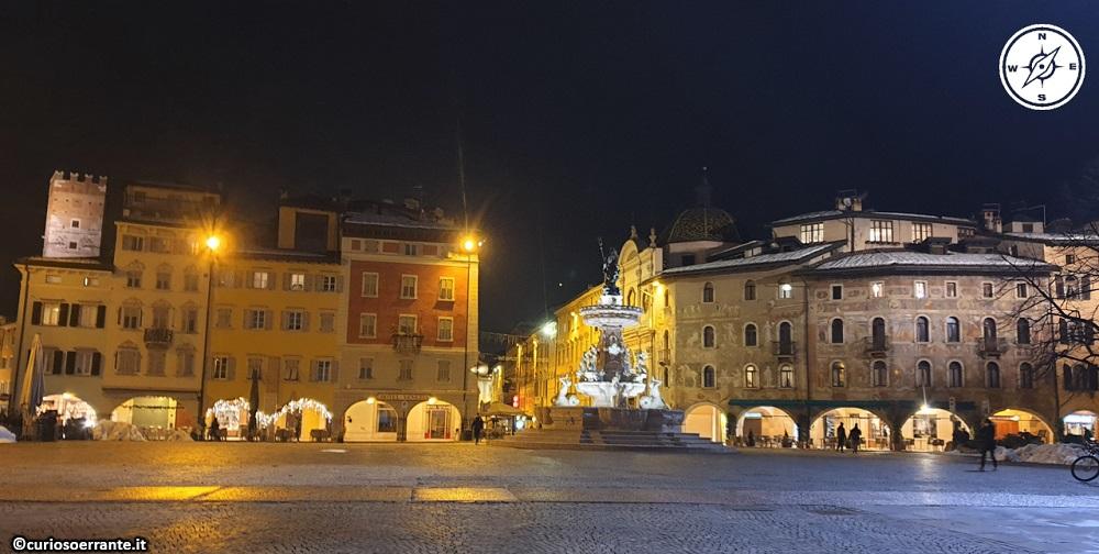 Trento - Piazza del Duomo - lato settentrionale