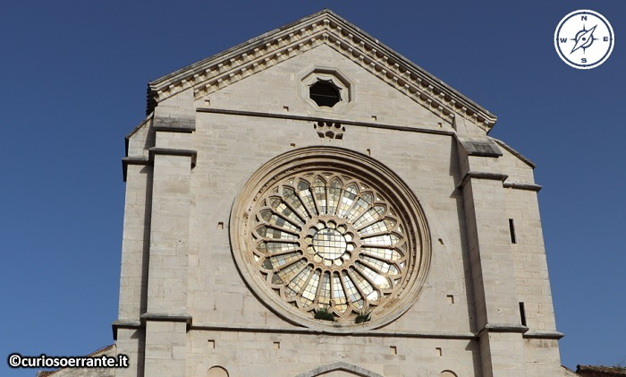 Abbazia di Fossanova - Chiesa di Santa Maria - Rosone