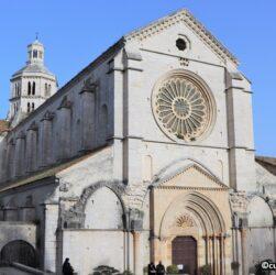 Abbazia di Fossanova - Facciata della chiesa