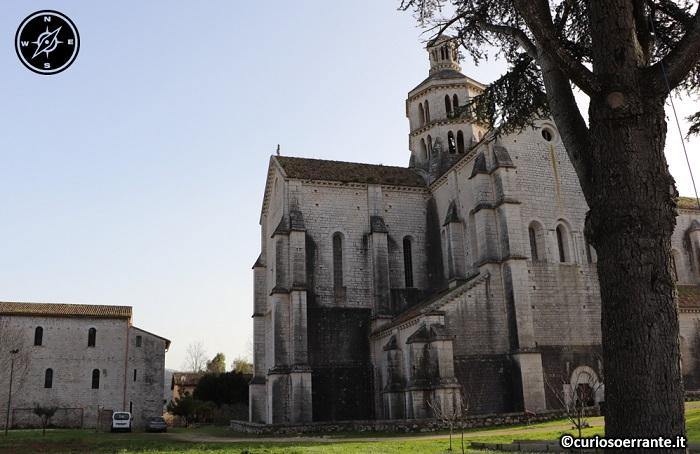 Abbazia di Fossanova - Retro della chiesa abbaziale e infermeria dei monaci