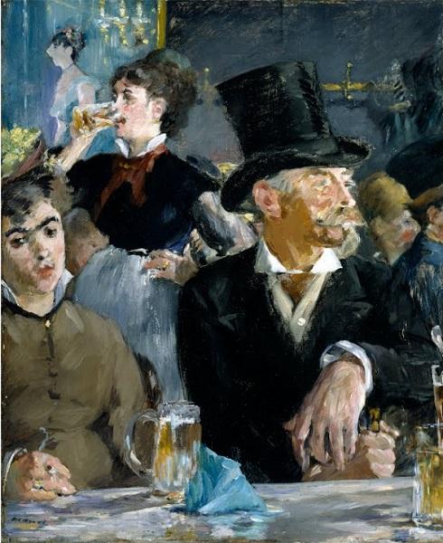 Édouard Manet - At the Café (1879)