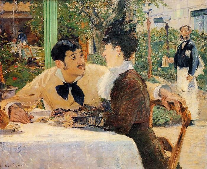 Édouard Manet - Chez le père Lathuille (1879)