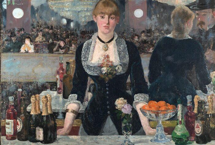 Édouard Manet - Il bar delle Folies-Bergère (1882)
