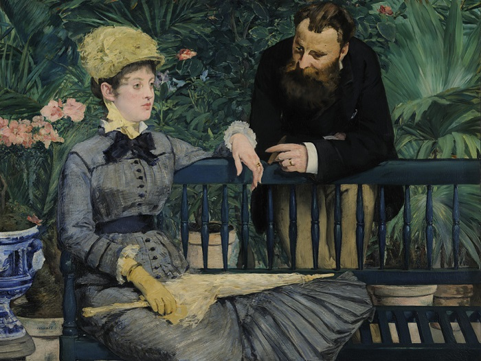 Édouard Manet - In the Conservatory (1878-79)