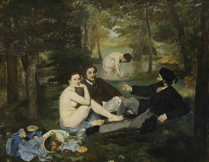 Édouard Manet - Luncheon on the Grass (1863)