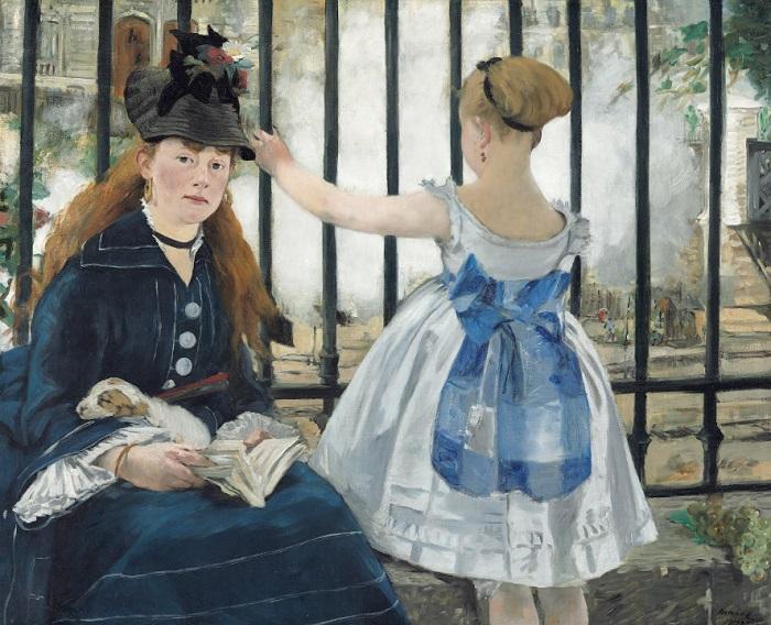 Édouard Manet - The Railway (1873)
