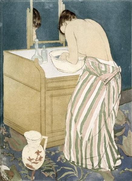 Mary Cassatt - La toilette (1890)