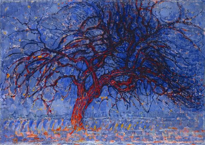 Piet Mondrain - Albero Rosso (1910)
