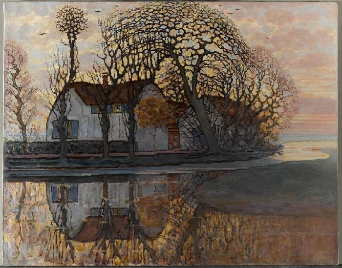 Piet Mondrain - Fattoria presso Duivendrecht (1916)