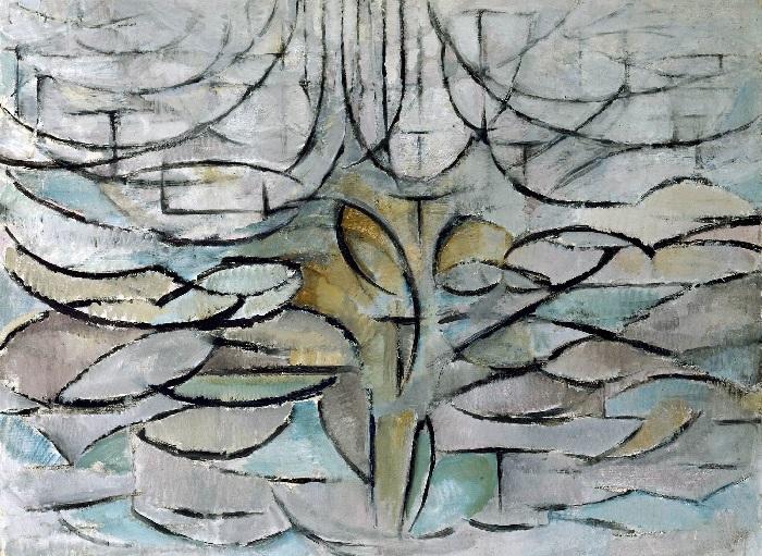 Piet Mondrain - Melo in fiore (1912)