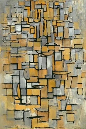 Piet Mondrain - Tavola n.1 (1913)