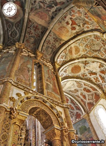 Tomar, Convento de Cristo - Charola soffitto