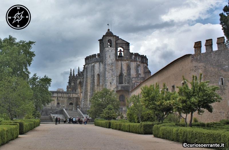 Tomar, Convento de Cristo - entrata al complesso conventuale