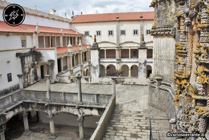 Tomar, Convento de Cristo - interno della struttura