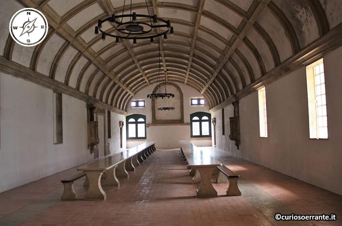 Tomar, Convento de Cristo - refettorio dei templari