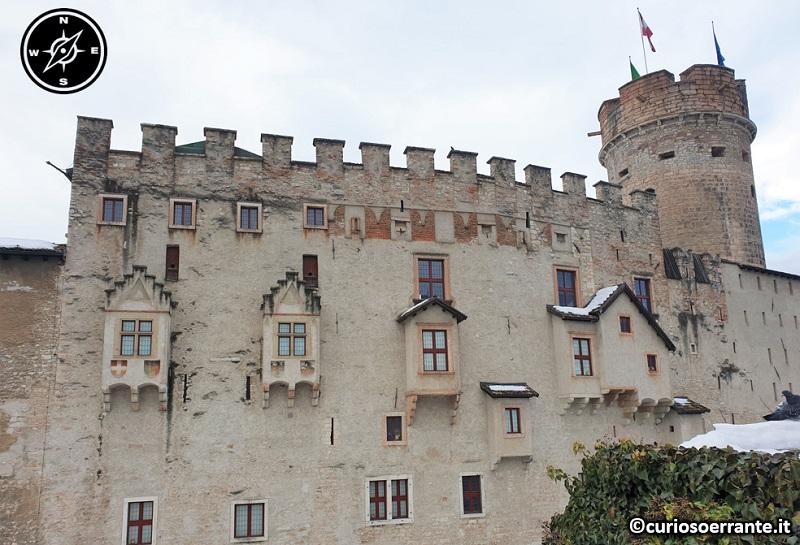 Trento - Castel del Buonconsiglio - Palazzo residenziale