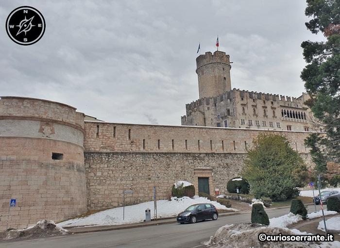 Trento - Castel del Buonconsiglio - Vista dall'esterno
