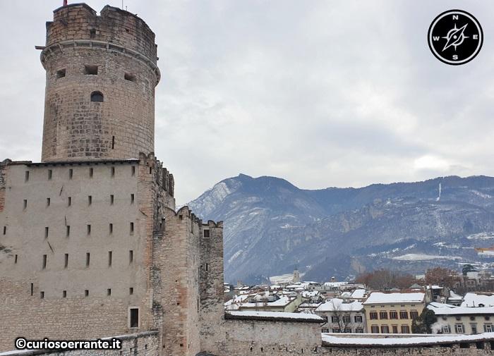 Trento - Castel del Buonconsiglio - il Castelvecchio