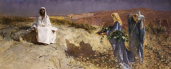 Domenico Morelli - Cristo nel deserto (1895)