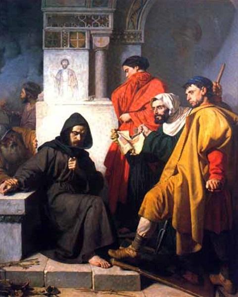 Domenico Morelli - Gli iconoclasti (1850)
