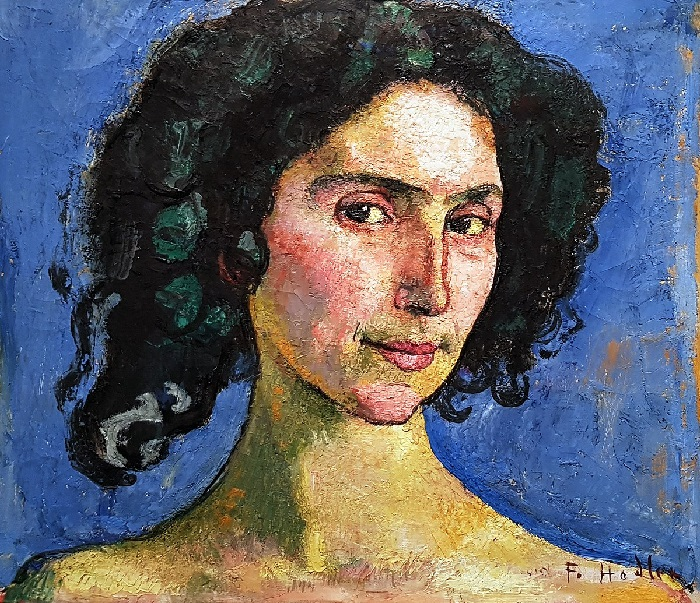 Ferdinand Hodler - Giulia Leonardi (1910)