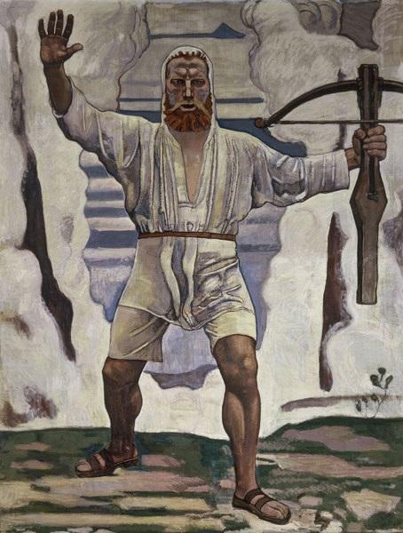 Ferdinand Hodler - Guglielmo Tell (1897)