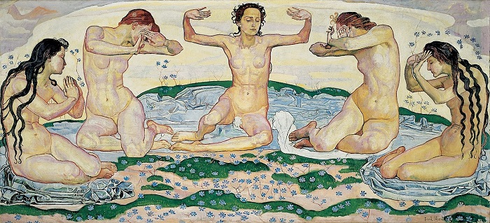 Ferdinand Hodler - Il giorno (1900)