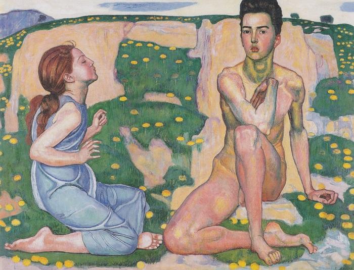 Ferdinand Hodler - La primavera (1901)