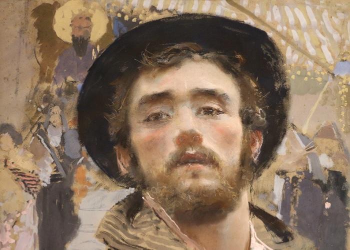 Francesco Paolo Michetti - Autoritratto (1877)