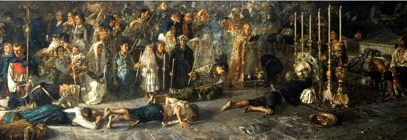 Francesco Paolo Michetti - Il voto (1883)