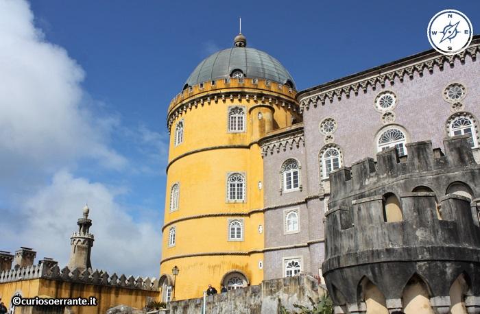 Palácio da Pena a Sintra - Ala della camera di manuel II