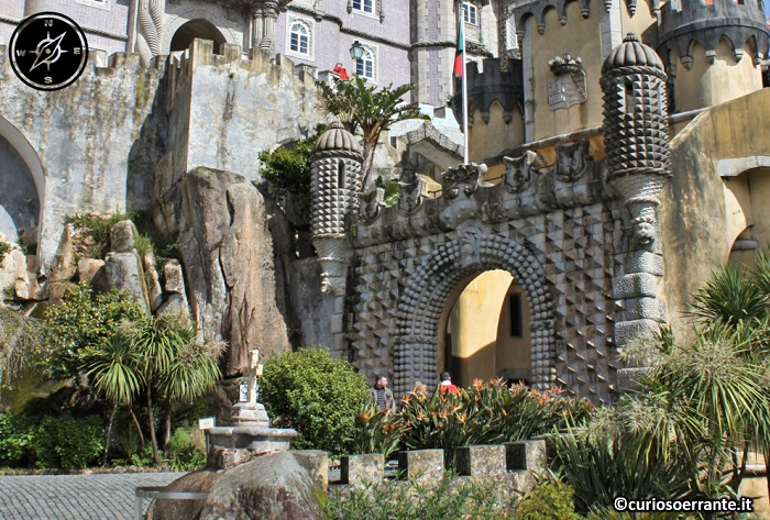 Palácio da Pena a Sintra - arco di ingresso