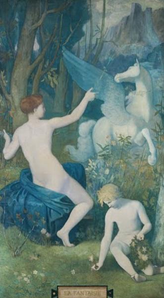 Pierre Puvis de Chavannes - Fantasia (1866)