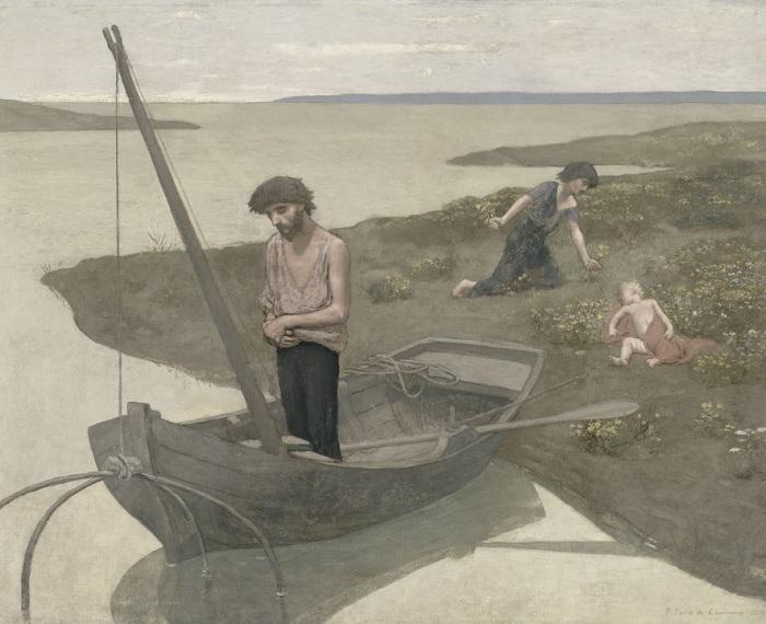 Pierre Puvis de Chavannes - Il povero pescatore (1881)