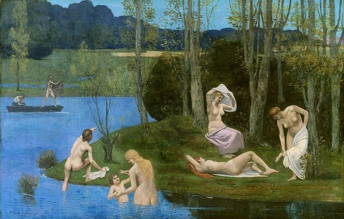 Pierre Puvis de Chavannes - L'estate (1891)