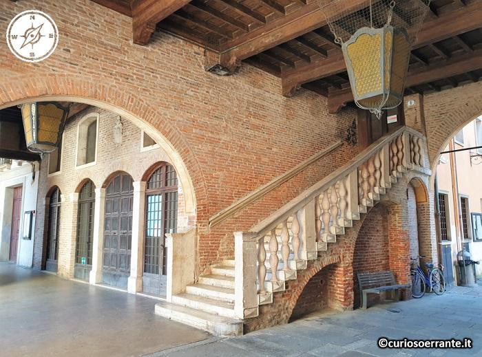 Rovigo - Loggia dei Notari porticato