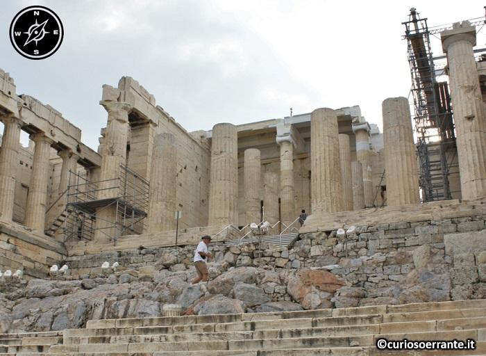Acropoli di Atene ed il Partenone - Propilei