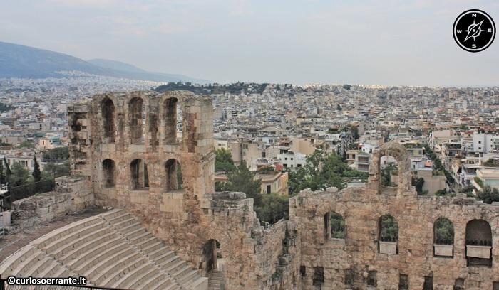 Acropoli di Atene ed il Partenone - Tempio di Erode Attico