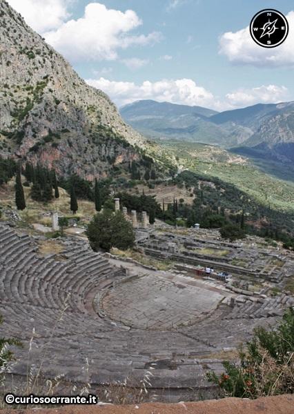 Antica Delfi - Teatro di Delfi