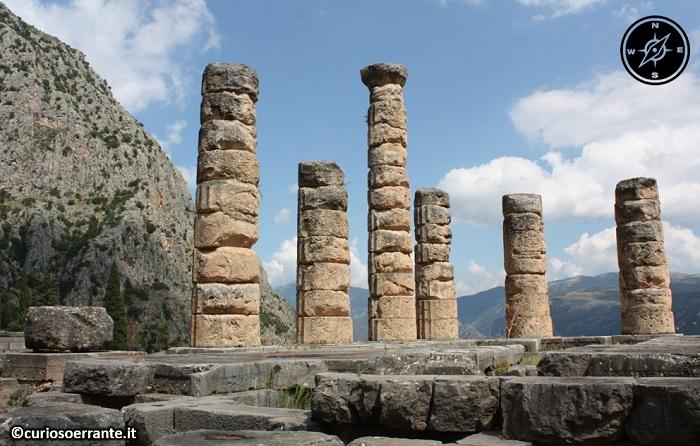 Antica Delfi - Tempio di Apollo