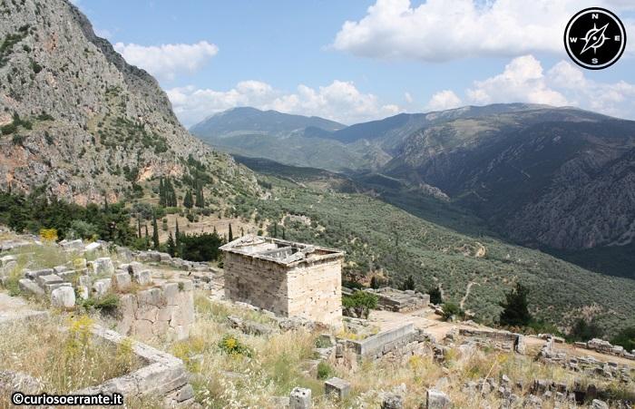 Antica Delfi - santuario della paganità