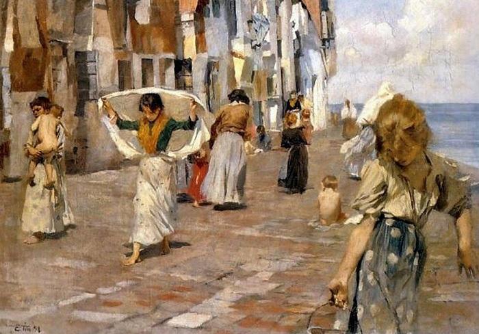 Ettore Tito - Chioggia (1898)