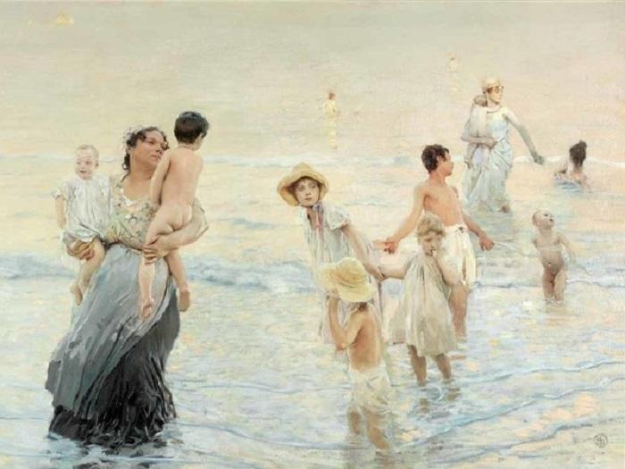 Ettore Tito - Luglio (1893-1894)