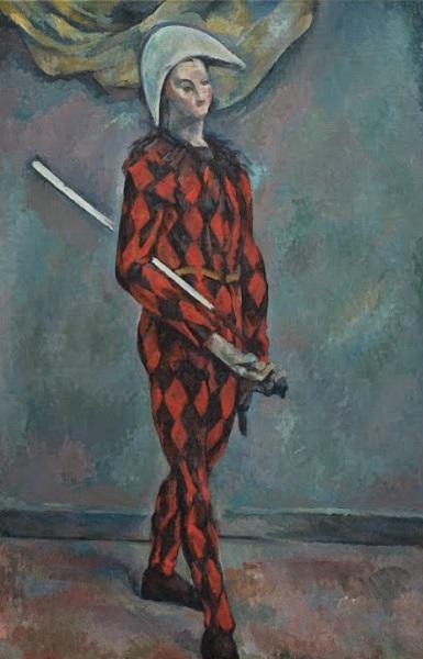 Paul Cézanne - Arlecchinoi (1888-1890)