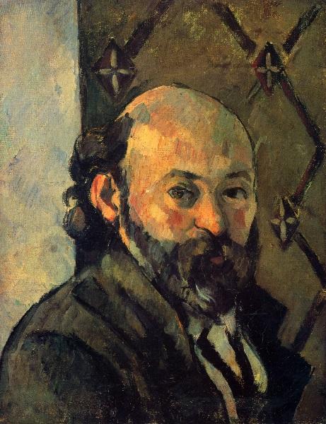 Paul Cézanne - Autoritratto (1881)