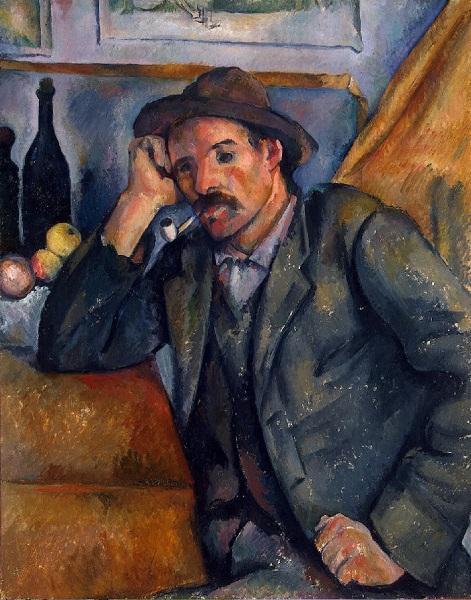 Paul Cézanne - Fumatore di pipa (1890)