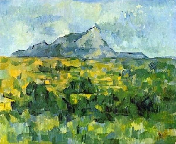Paul Cézanne - La Montagna Sainte-Victoire (1904-1906)