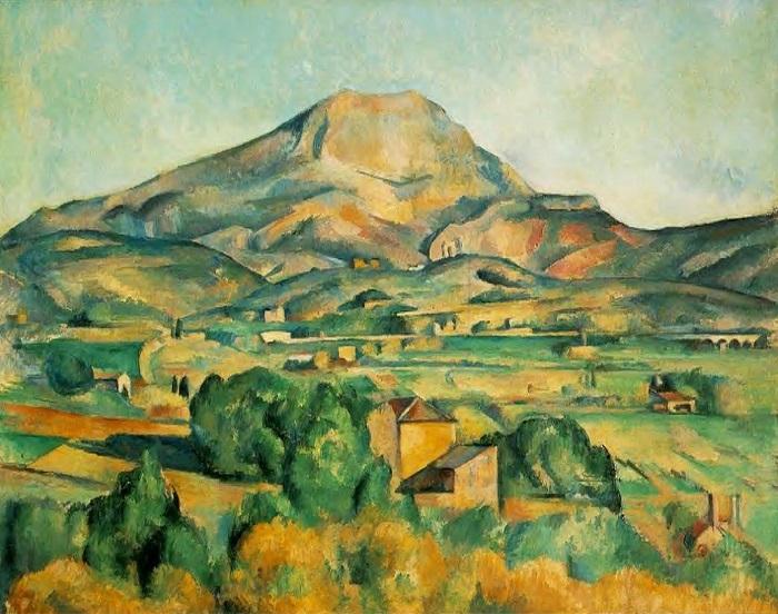 Paul Cézanne - Mont Sainte-Victoire visto da Bellvue (1892–1895)