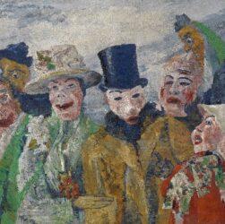 James Ensor - L'intrigo (1890)